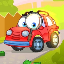لعبة السيارة ويلي Wheely 7 Detective اونلاين